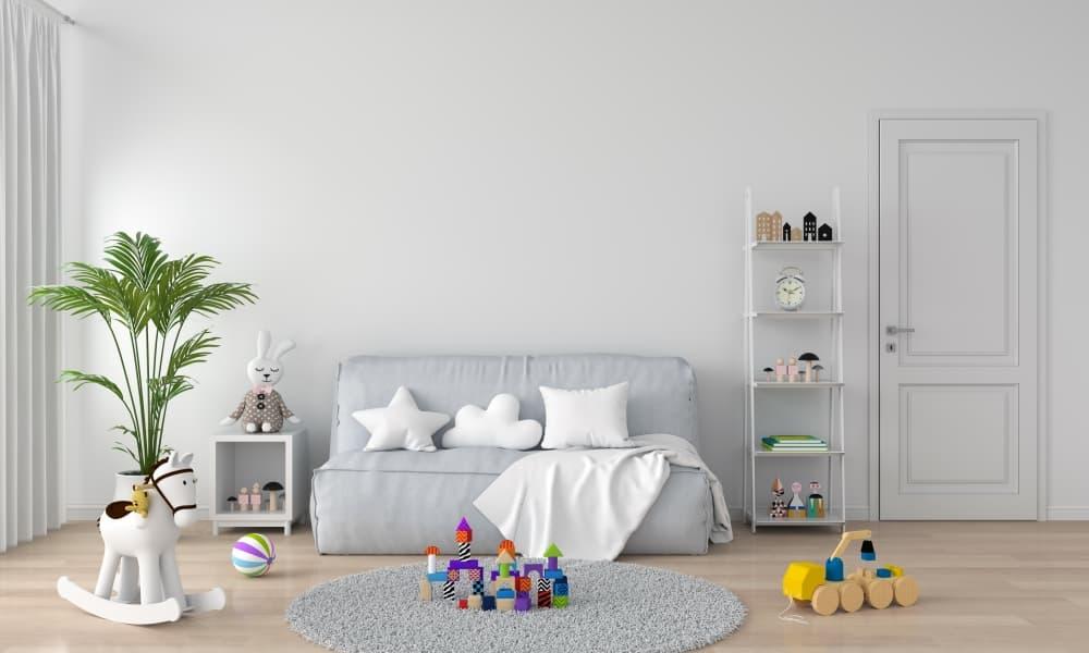 Pięć mebli, które są niezbędne w pokoju dziecięcym